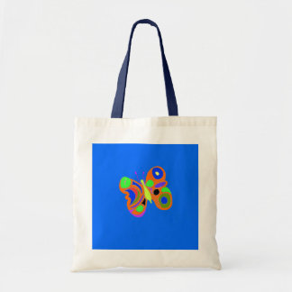 Colorful Butterfly Canvas Bags