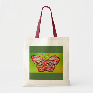 Colorful Butterfly Design Tote Bag