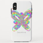 Colorful butterfly geometric figure iPhone XS max case