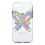 Colorful butterfly geometric figure iPhone 8/7 case