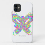 Colorful butterfly geometric figure - iPhone 11 case
