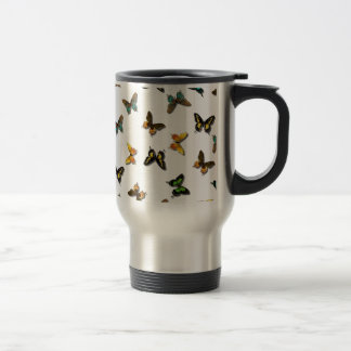 Colorful Butterfly Image Travel Mug