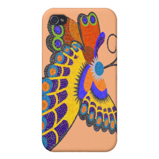 Colorful Butterfly iPhone 4/4S Case
