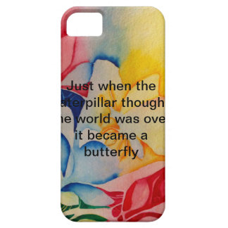 colorful butterfly iPhone SE/5/5s case