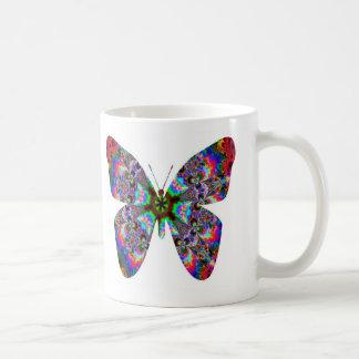 Colorful Butterfly Mandala Coffee Mug
