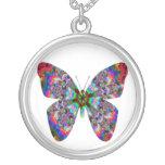 Colorful Butterfly Mandala Custom Jewelry