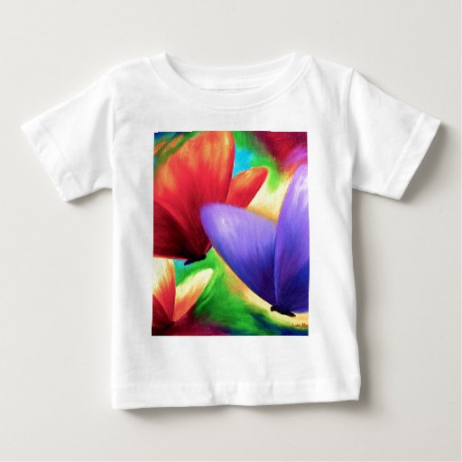 Colorful Butterfly Painting - Multi T-shirt