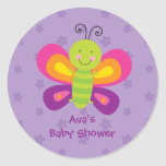 Colorful Butterfly Personalized Sticker