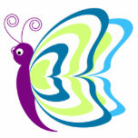 Colorful Butterfly Photo Cut Outs