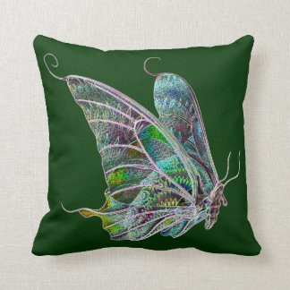 Colorful Butterfly Reversible Pillow