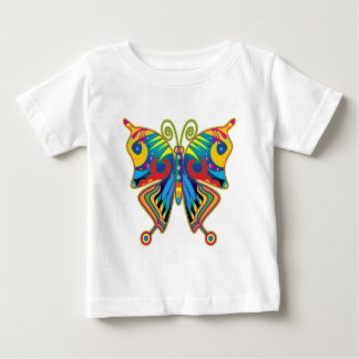 Colorful butterfly tee shirt