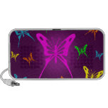 Colorful Butterfly Travelling Speaker