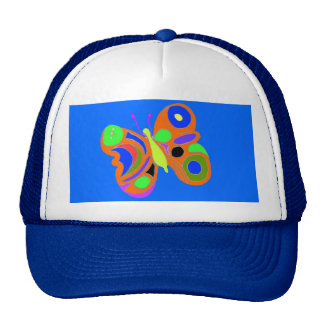Colorful Butterfly Trucker Hat