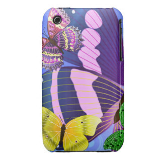 Colorful Butterfly Wings iPhone Case