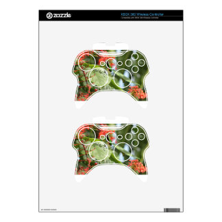 Colorful Butterfly Xbox 360 Controller Skin