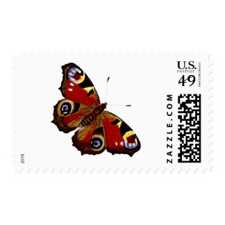 Colorful Butterly Postage