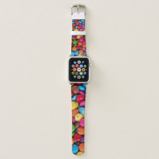Colorful Button Candy Apple Watch Band