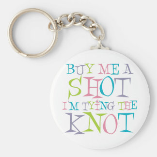 Colorful Buy Me A Shot Keychain