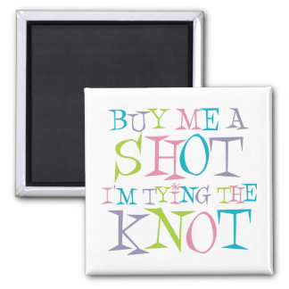 Colorful Buy Me A Shot Refrigerator Magnets