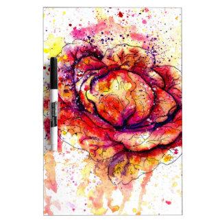 Colorful Cabbage Watercolor2 Dry Erase Board