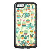 Colorful Cactus Flower Pattern Apple iPhone 6 Case