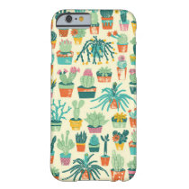 Colorful Cactus Flower Pattern iPhone 6 Case