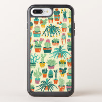Colorful Cactus Flower Pattern iPhone 8 Plus Case