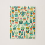 """Colorful Cactus Flower Pattern Jigsaw Puzzle<br><div class=""""desc"""">Colorful Cactus Flower Pattern Jigsaw Puzzle with Gift Box. Turn designs, photos, and text into a great game with customizable puzzles. Made of sturdy cardboard and mounted on chipboard, these puzzles are printed in vivid and full color. For hours of puzzle enjoyment, give a custom puzzle as a gift today....</div>"""