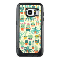 Colorful Cactus Flower Pattern OtterBox Samsung Galaxy S7 Edge Case