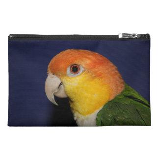 Colorful Caique Parrot Travel Accessories Bags