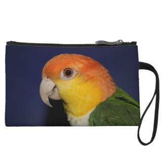 Colorful Caique Parrot Wristlets