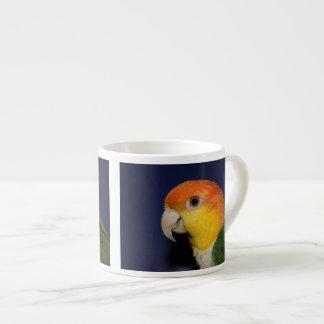 Colorful Caique Parrot Espresso Cup