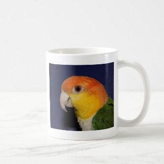 Colorful Caique Parrot Classic White Coffee Mug