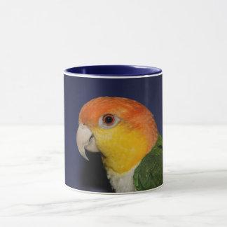 Colorful Caique Parrot Mug