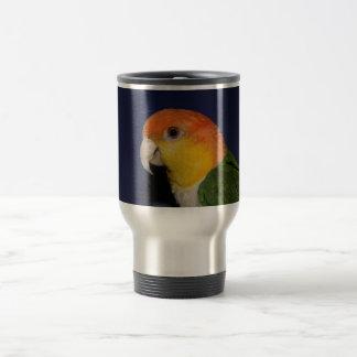 Colorful Caique Parrot Travel Mug