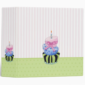 Colorful Cake Avery Binder