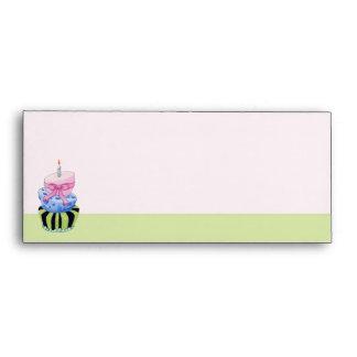 Colorful Cake Letterhead matching Envelope