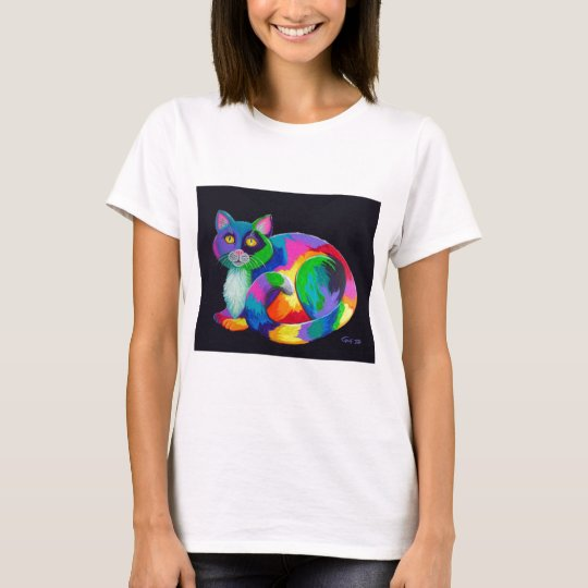 Colorful Calico T-Shirt