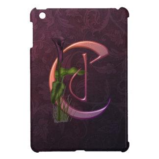 Colorful Calla Initial C Case For The iPad Mini