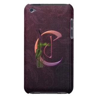 Colorful Calla Initial C iPod Case-Mate Case
