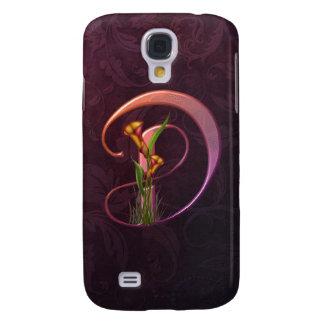 Colorful Calla Initial D Galaxy S4 Case