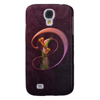 Colorful Calla Initial D Galaxy S4 Covers