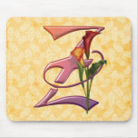 Colorful Calla Initial Z Mouse Mat