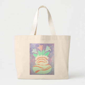 Colorful Calla Lilies in Vase Painting Tote Bag
