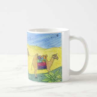 Colorful Camels Classic White Coffee Mug