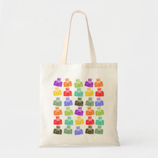 Colorful Cameras Tote Bags