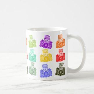 Colorful Cameras Classic White Coffee Mug
