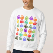 Colorful Cameras Sweatshirt