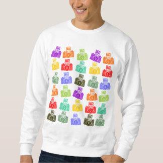 Colorful Cameras Sweatshirt