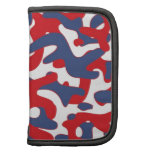 Colorful Camouflage Pattern Folio Planner